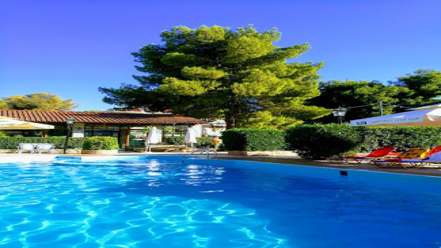 wczasy Grecja Tolo Centum Podróży Koliber basen Ritsas hotel