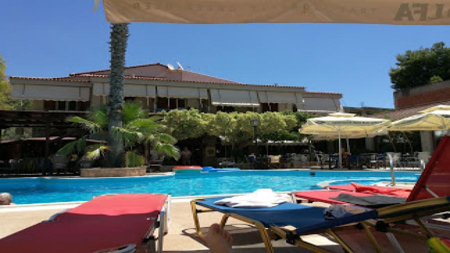 wczasy Grecja Tolo Centum Podróży Koliber basen hotel Ristas