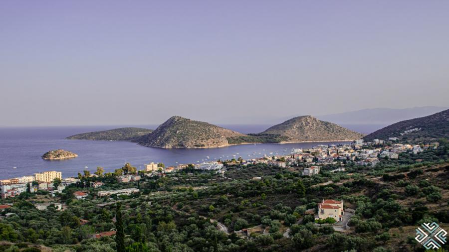 wczasy Grecja Tolo Centum Podróży Koliber panorama Tolo