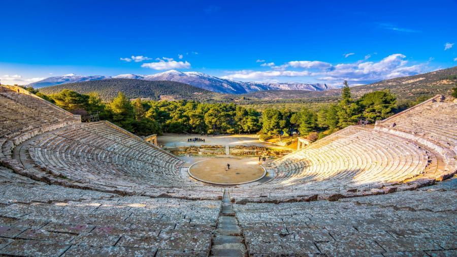 wczasy Grecja Tolo Centum Podróży Koliber  amfiteatr Epidauros