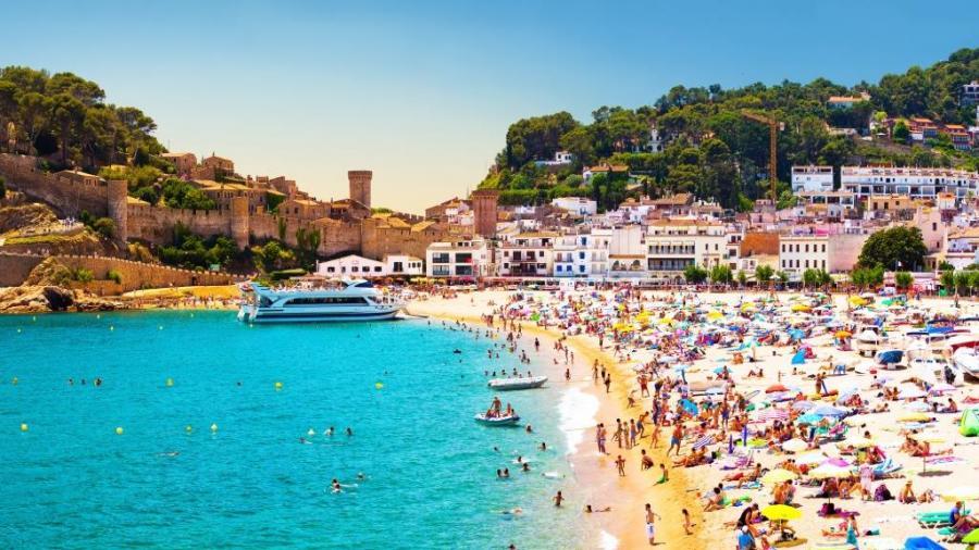 wczasy Hiszpania Włochy Wenecja Centrum Podróży Koliber zamek Tossa de Mar