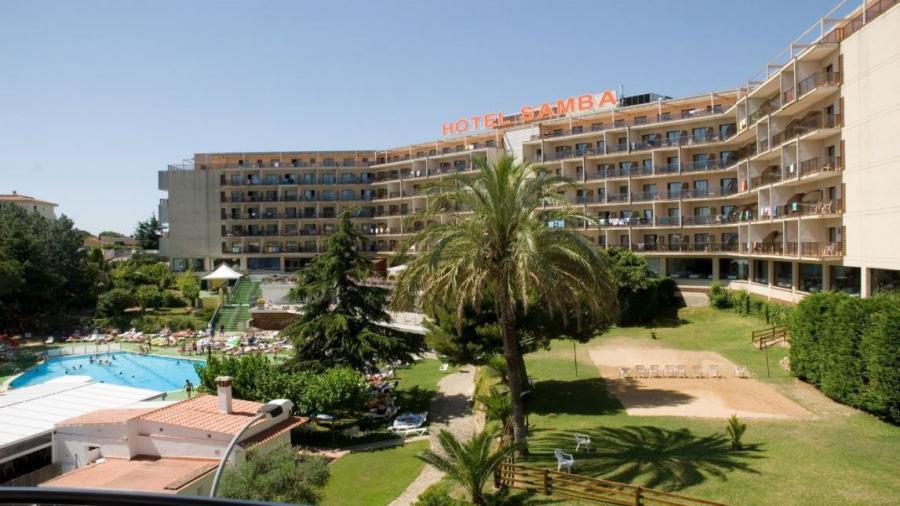 Centrum Podróży Koliber obóz HIszpania Lloret de Mar hotel Samba