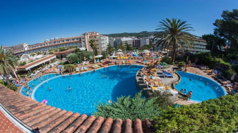 Centrum Podróży Koliber obóz Hiszpania Lloret de Mar, hotel Samba