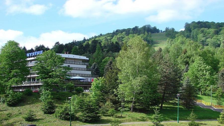 Bystre obóz Bieszczady Koliber