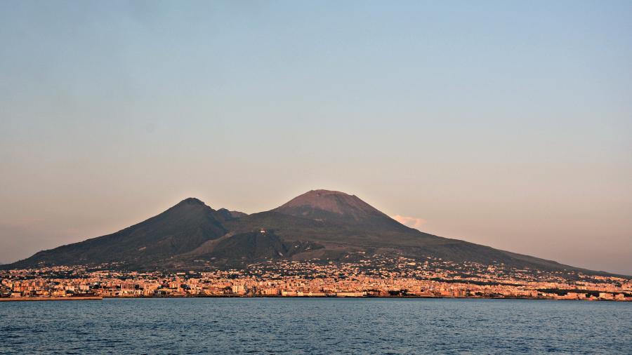 Centrum Podróży Koliber obóz Włochy, Włoskie Wakacje, Północ Południe, Wezuwiusz