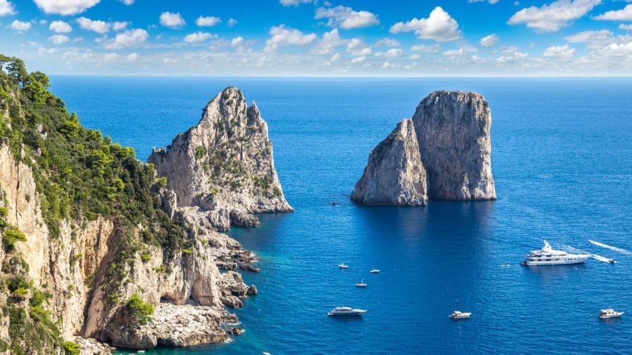 Centrum Podróży Koliber obóz Włochy, Włoskie Wakacje, Północ Południe, zatoka Salerno